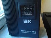 Продам стабилизатор однофазный электронный переносной IEK