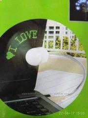 Удобный мини-вентилятор с подсветкой   USB вентилятор  Flash Fan,